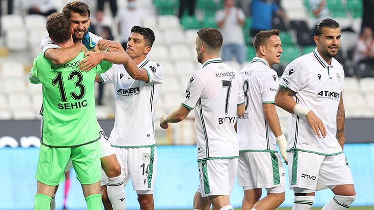 Konyaspor'dan tarihindeki en iyi sezon başlangıcı