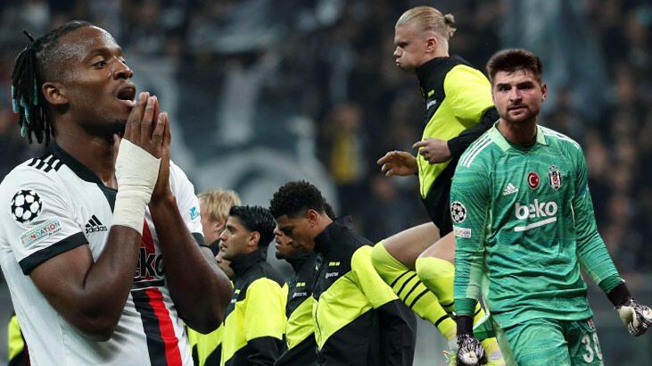"""Son dakika - Beşiktaş-Borussia Dortmund maçı sonrası olay manşet: """"İnsan olduğu kanıtlandı!"""""""