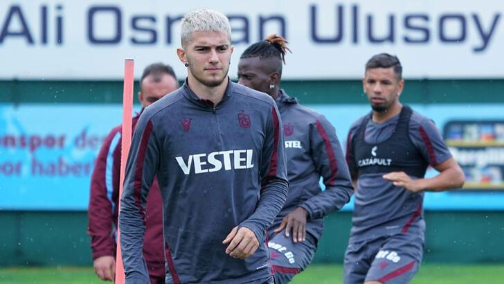 Trabzonspor'da Djaniny koşu yaptı