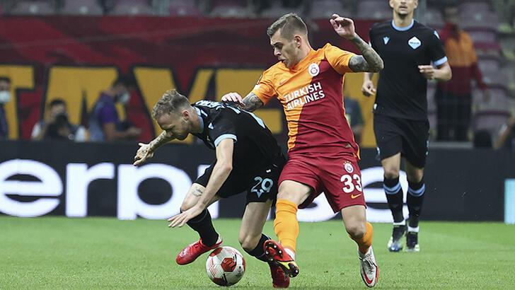 Galatasaray - Lazio maçından görüntüler