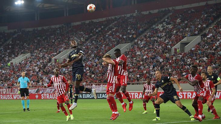 Olympiakos - Antwerp: 2-1