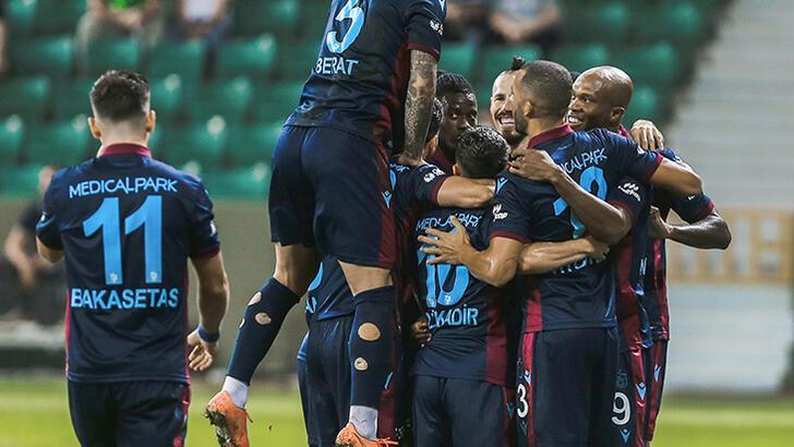 Son dakika - Trabzonspor'un kamp kadrosu açıklandı! 2 iyi haber