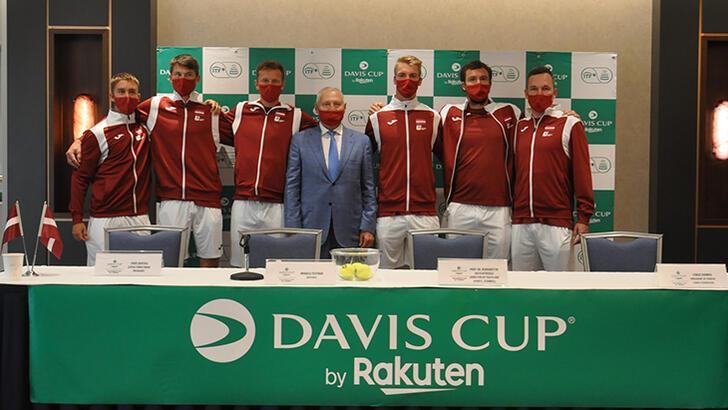 Kortta Davis Cup heyecanı