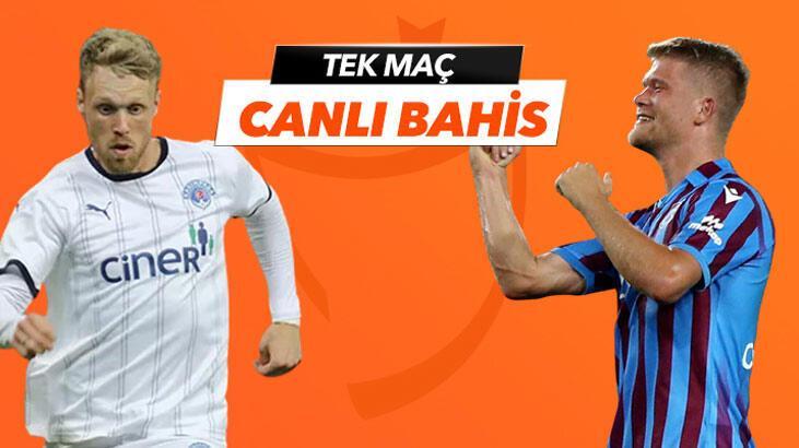 Kasımpaşa-Trabzonspor maçı canlı bahis seçeneğiyle Misli.com'da