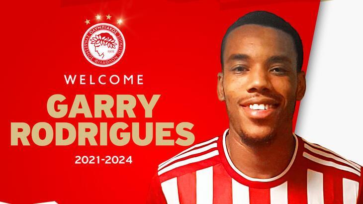 Son dakika - Olympiakos, Garry Rodrigues transferini resmen açıkladı!