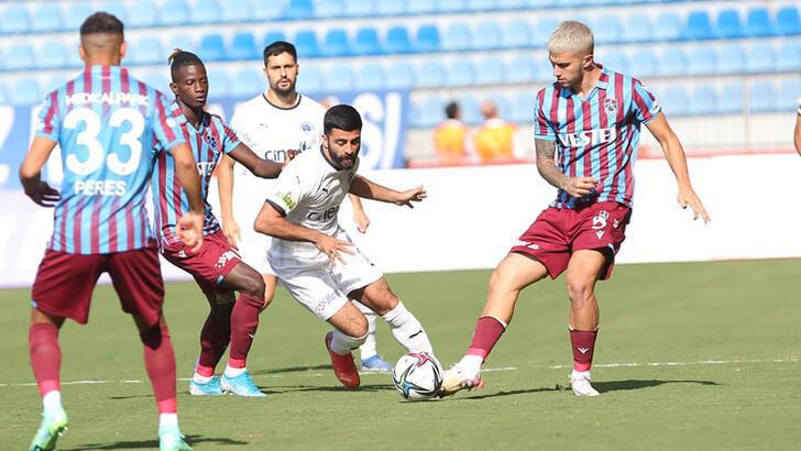 Kasımpaşa - Trabzonspor: 0-1