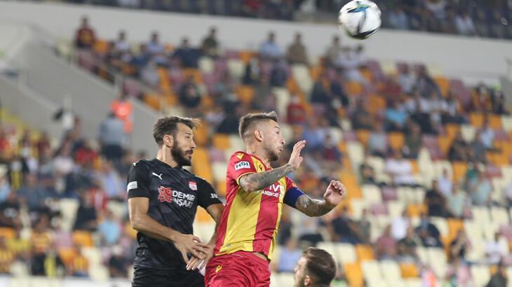 Yeni Malatyaspor - DG Sivasspor: 0-1