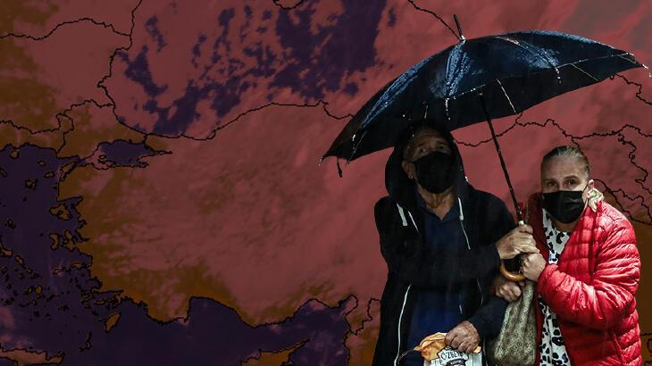Son dakika: Meteoroloji bölge bölge uyardı! Şiddetli geliyor