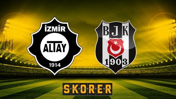 Süper Lig'de 7. hafta! Altay - Beşiktaş maçı ne zaman, saat kaçta ve hangi kanalda?