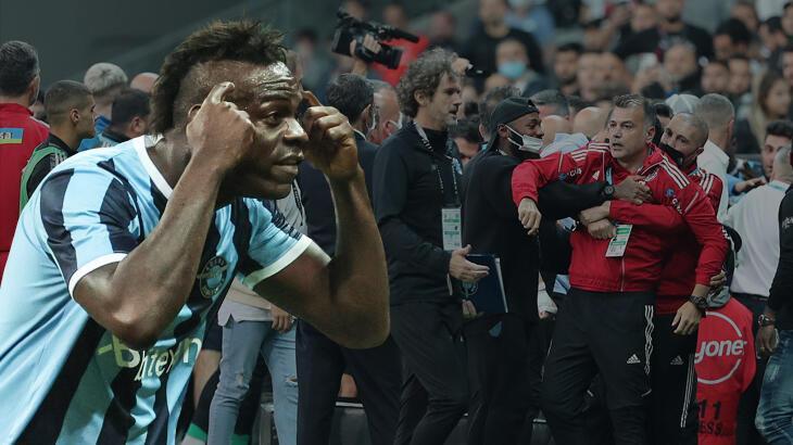 Son dakika haberi: Mario Balotelli'den olay sözler! Beşiktaş maçında yaşananları anlattı