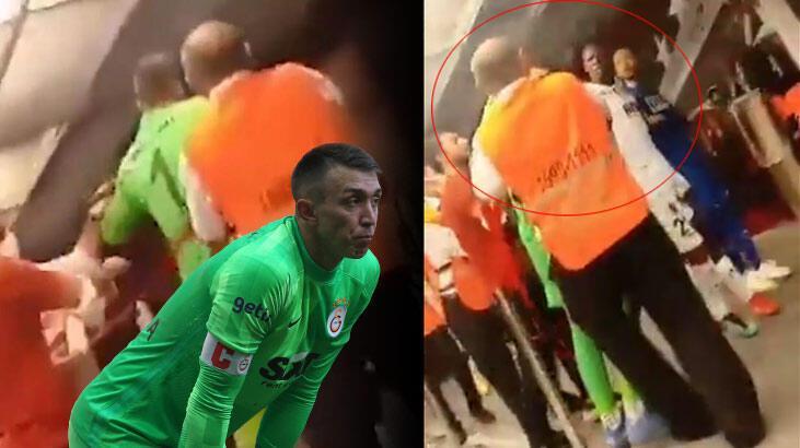 Son Dakika - Galatasaray'ın Alanyaspor yenilgisinin ardından olay görüntü ortaya çıktı! Muslera...