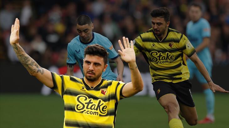 Son dakika haberi: Ozan Tufan, Premier Lig sahnesinde! Milli futbolcu ilk maçına çıktı