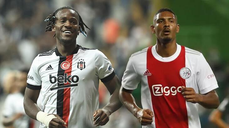 HAYDİ KARA KARTAL! Ajax-Beşiktaş Şampiyonlar Ligi maçı bu akşam saat kaçta hangi kanalda? Muhtemel 11'ler...