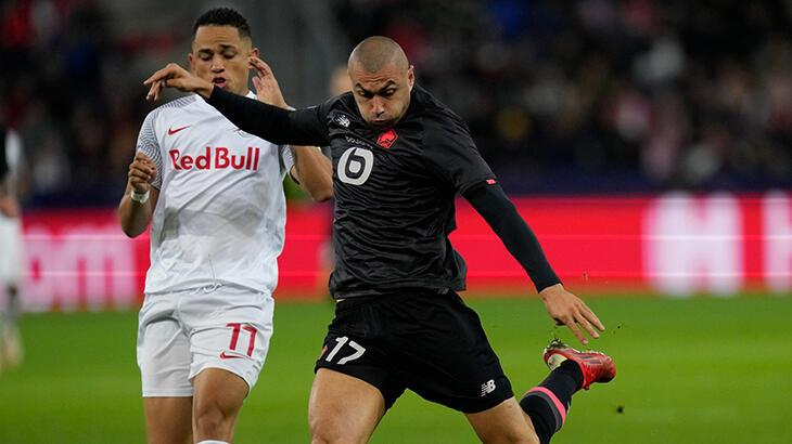 Salzburg - Lille: 2-1