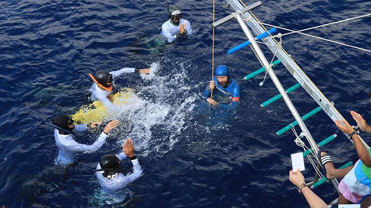 Son dakika haberi: Serbest dalışta bir dünya, bir Türkiye rekoru