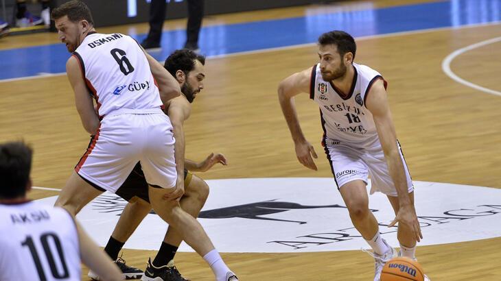 Hereda San Pablo Burgos: 82 - Beşiktaş Icrypex: 74