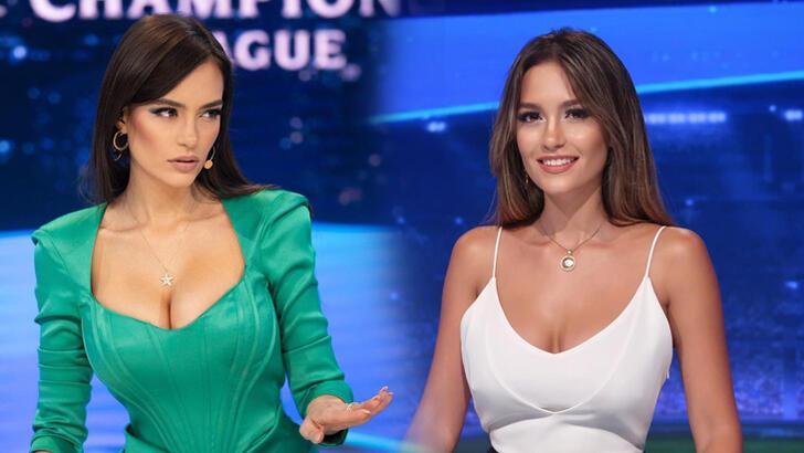 Şampiyonlar Ligi spikeri Eva Murati tekrar Türkiye'de!