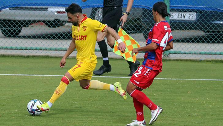 Göztepe özel maçta Altınordu'yu 1-0 yendi
