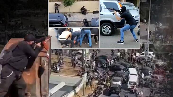 Lübnan'da göstericilere ateş açıldı! Ordu çağrı yaptı