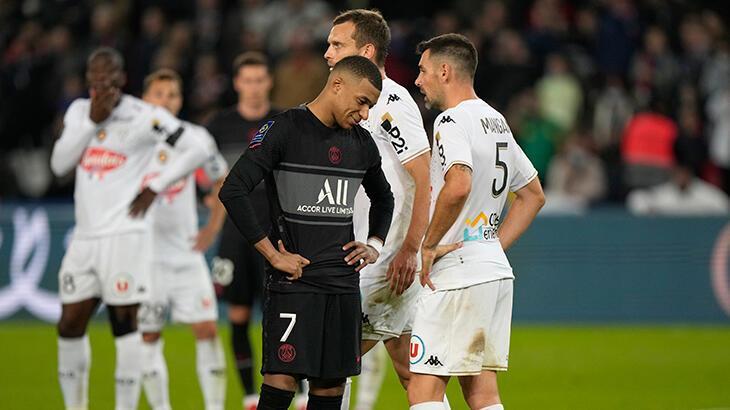 Son dakika haberi: PSG, Angers'i 2-1'le geçti
