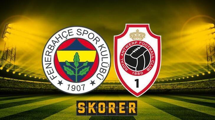 Fenerbahçe maçı ne zaman, maçı şifresiz mi? FB Antwerp mücadelesi saat kaçta, hangi kanalda?