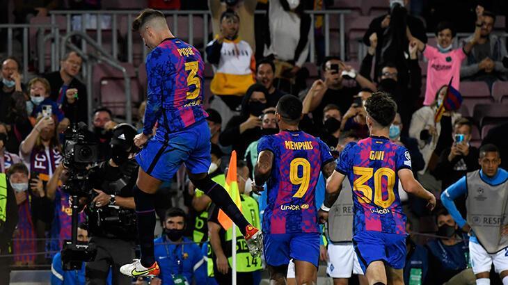 Son dakika haberleri: Barcelona, Şampiyonlar Ligi'nde galibiyetle tanıştı