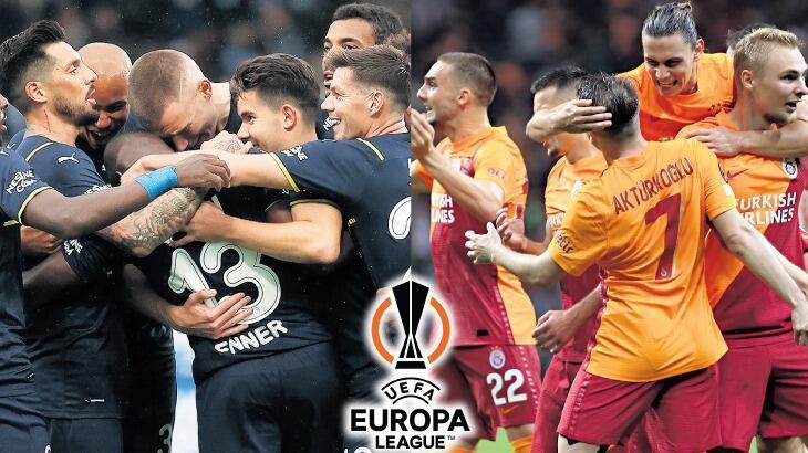 Son dakika haberleri: Fenerbahçe ve Galatasaray, UEFA Avrupa Ligi sahnesinde