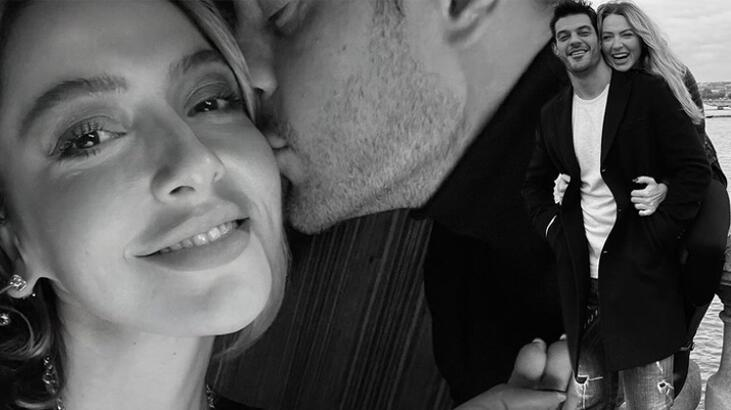 Hadise ile Mehmet Dinçerler, Paris'te aşka geldi