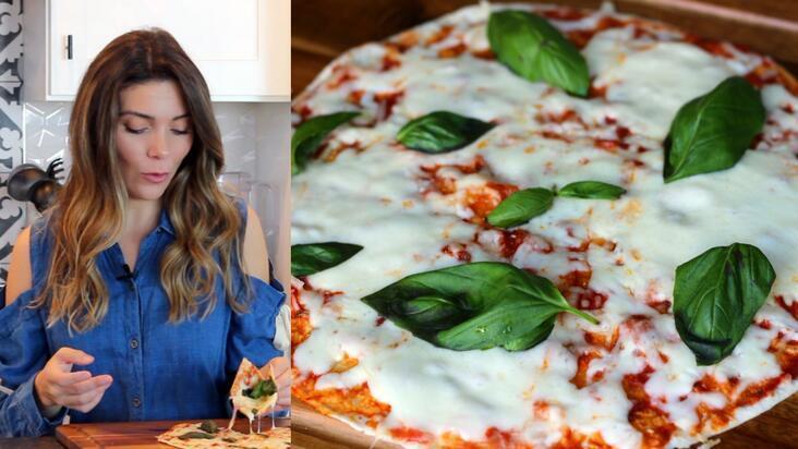 Tavada pratik pizza   Lavaş ekmeği ile pizza nasıl yapılır?