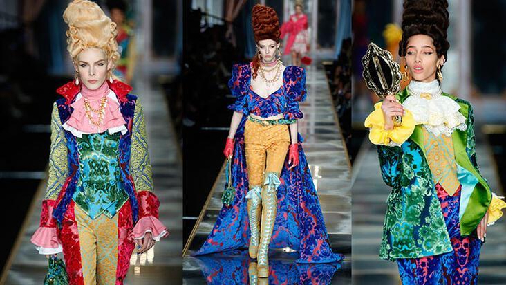Moschino'nun futuristik Marie Antoinette yorumu