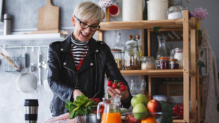 Evdeki negatif enerjilere elveda: Taze meyvelere yer açın