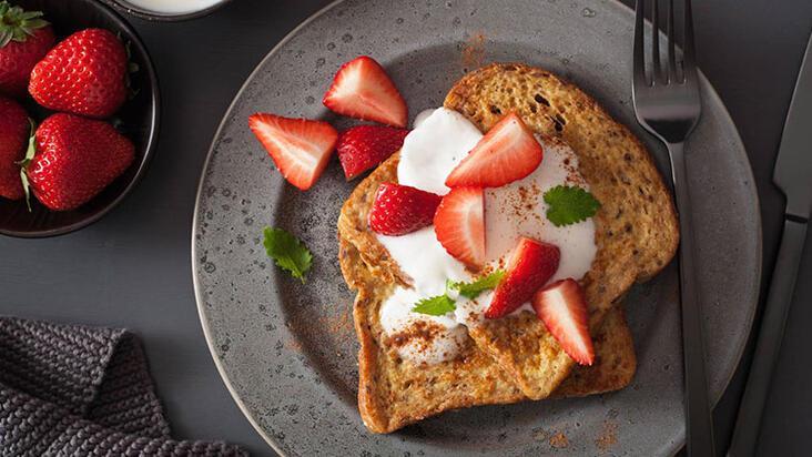 Yazın metabolizmayı hızlandıran 3 meyveli tost tarifi