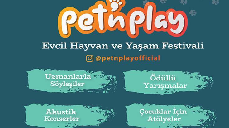 Evcil Hayvan ve Yaşam Festivali Pet'N Play üç gün boyunca Bebek'te!