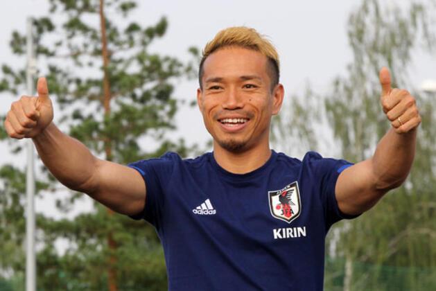 Galatasaray'ın futbolcusu Yuto Nagatomo, sosyal medya rakamlarında Dünya Kupası'na damga vurdu.(Onur Dinçer / Skorer Dış Haberler)