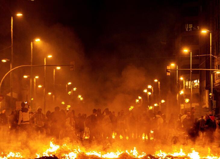 Şehir yanıyor! El Clasico...