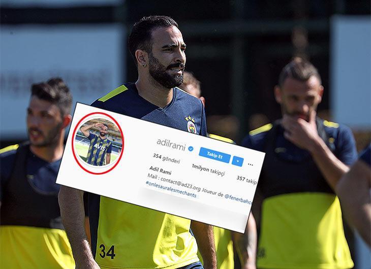 Rami 'selamı' çaktı!