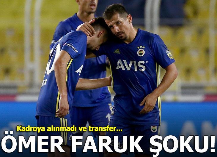 Fenerbahçe'de Ömer Faruk Beyaz depremi