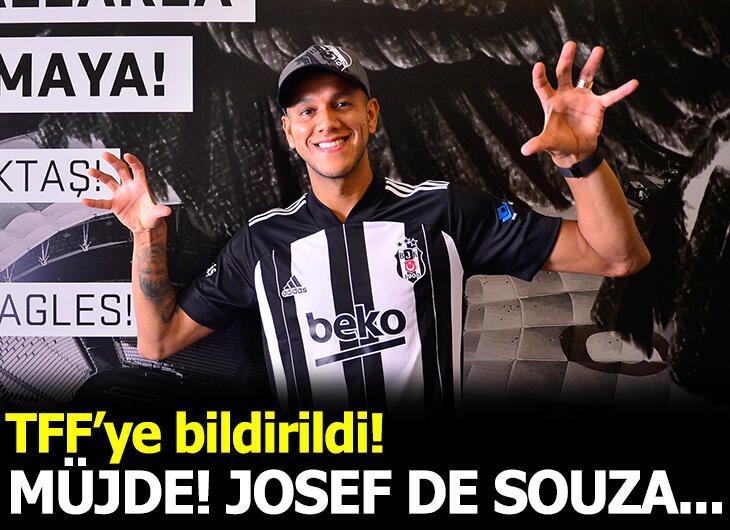 Beşiktaş'ta Josef de Souza'nın lisansı çıktı
