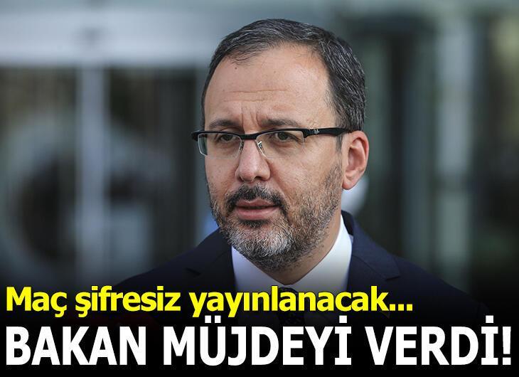 Bakan Kasapoğlu müjdeyi açıkladı!