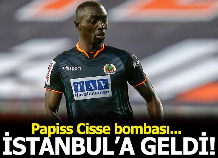 Papiss Cisse, Fenerbahçe için İstanbul'da!