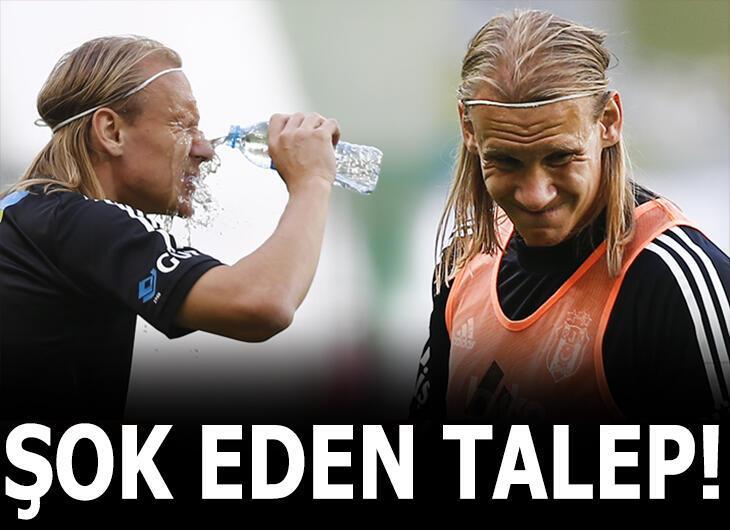 Vida, Beşiktaş yönetimini şoke etti!