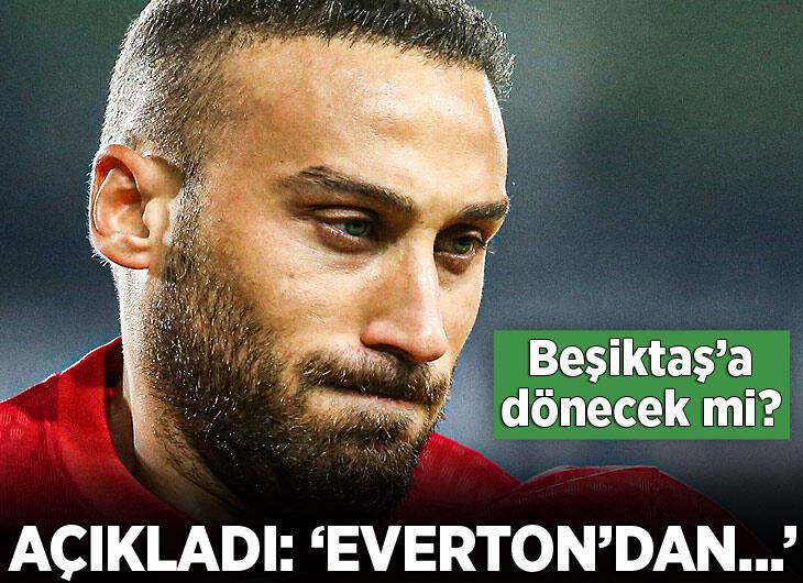 Cenk Tosun, Everton'dan ayrılacak mı? Açıkladı...