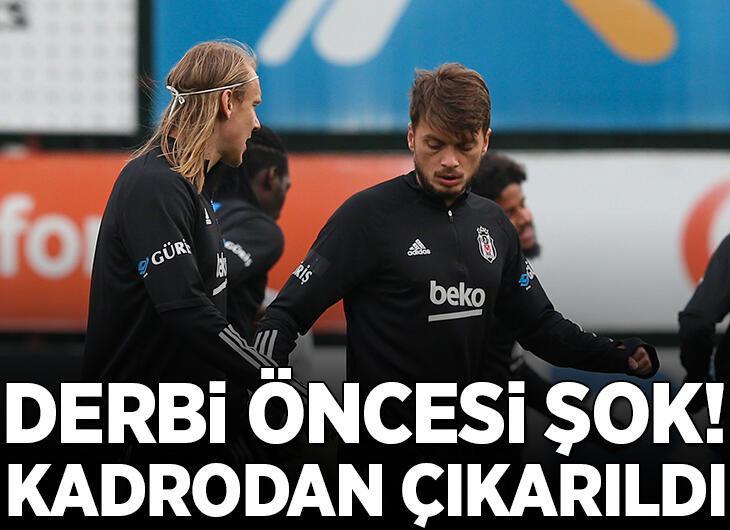 Son dakika - Beşiktaş'ta Adem Ljajic Fenerbahçe maçının kadrosundan çıkarıldı!