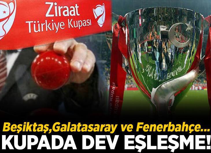 Ziraat Türkiye Kupası çeyrek final kuraları çekildi! İşte eşleşmeler...