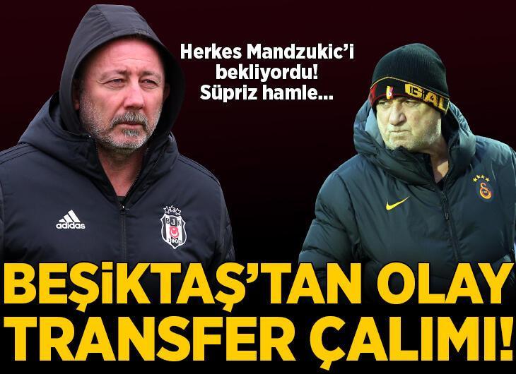 Beşiktaş'tan G.Saray'a transfer çalımı!