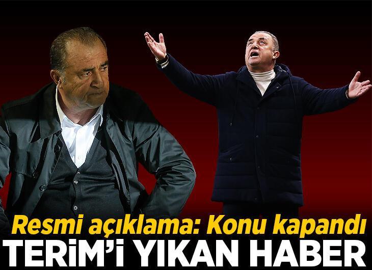 Fatih Terim'i yıkan haber! Resmen açıklandı: Konu kapandı