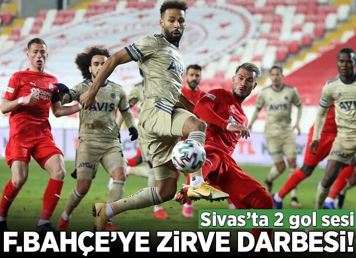 Sivassspor - Fenerbahçe: 1-1