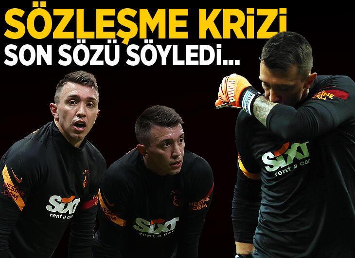 Galatasaray'a Muslera şoku! Son sözü söyledi...