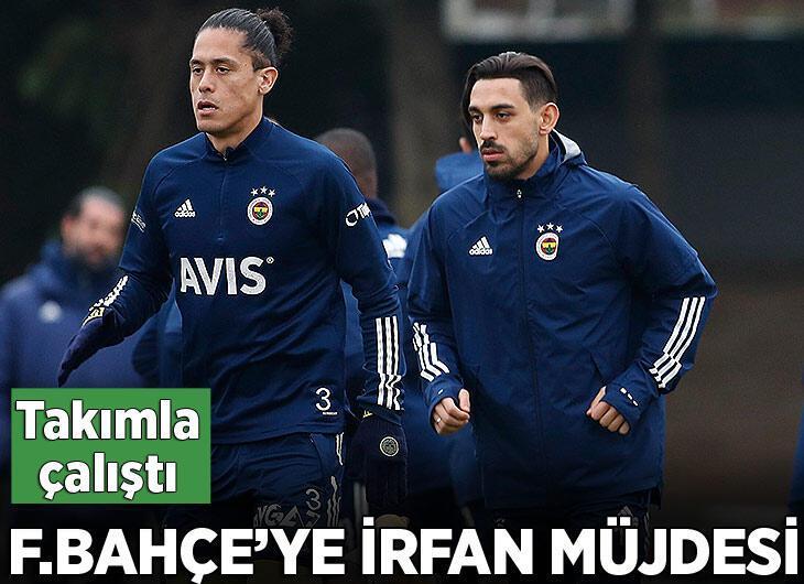 Fenerbahçe'de İrfan Can Kahveci takımla çalıştı