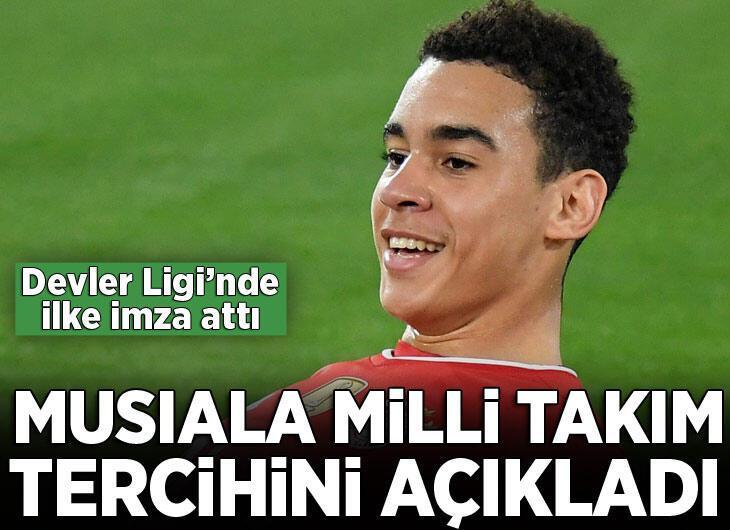 Bayern Münih'in genç yıldızı Musiala, Almanya Milli Takımı'nı seçti